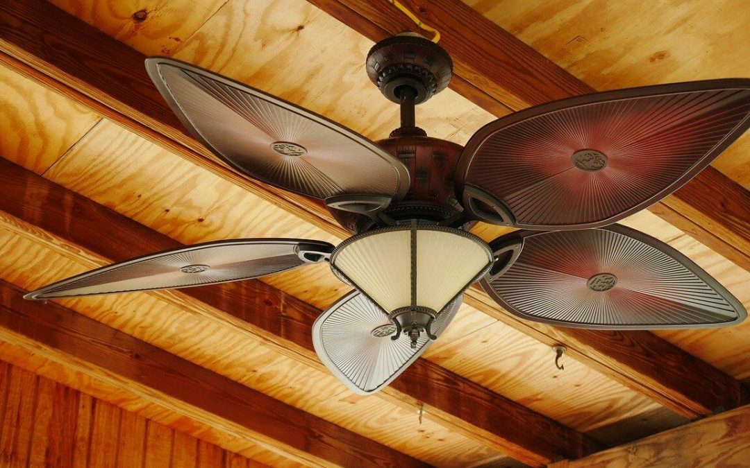 a ceiling fan will help reduce cooling costs